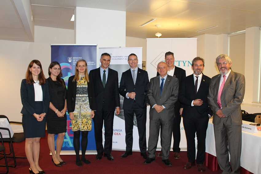 Investment seminar on behalf of the Slovak Republic